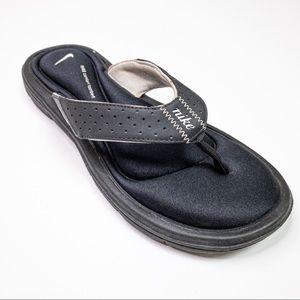 Nike Comfort Footbed Black Thong Sandal